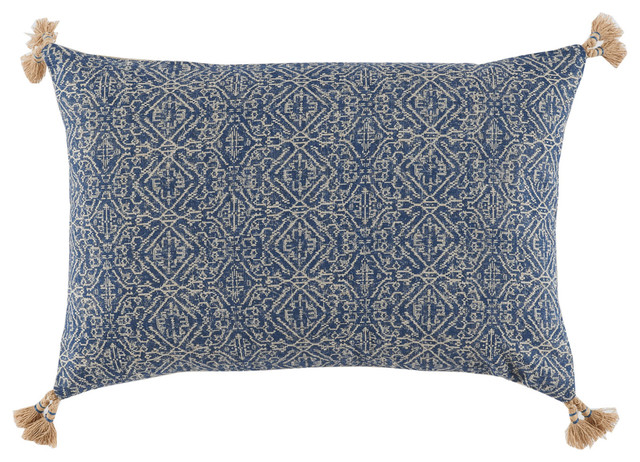 Lacefield Designs Priya Lumbar Pillow With Tassels
