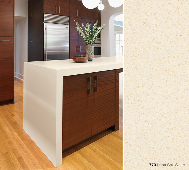 773 Luna Sail White Formica® Solid Surfacing Contemporary