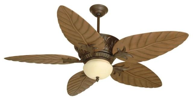 "Craftmade K10241 Pavilion 54"" 5-Blade Indoor Ceiling Fan, Aged Bronze."
