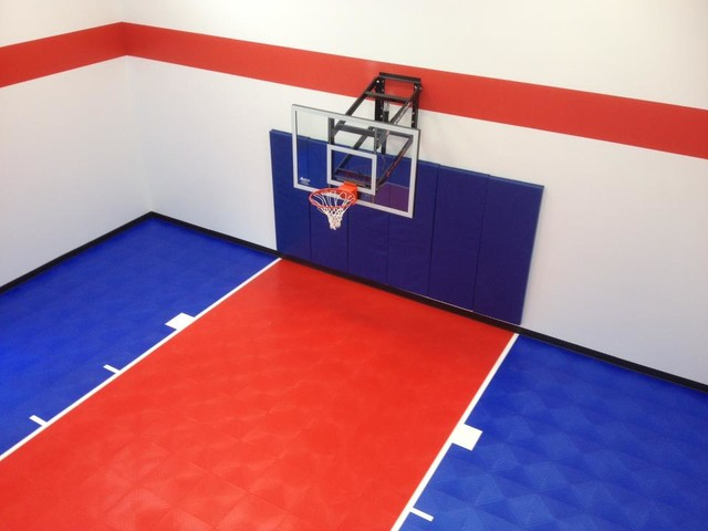 SnapSports® Indoor Home Sport Gym and Basketball Court ...
