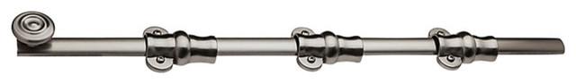Bright Nickel Top Notch Distributors Inc. Baldwin 0381140 Surface Bolt Home Improvement