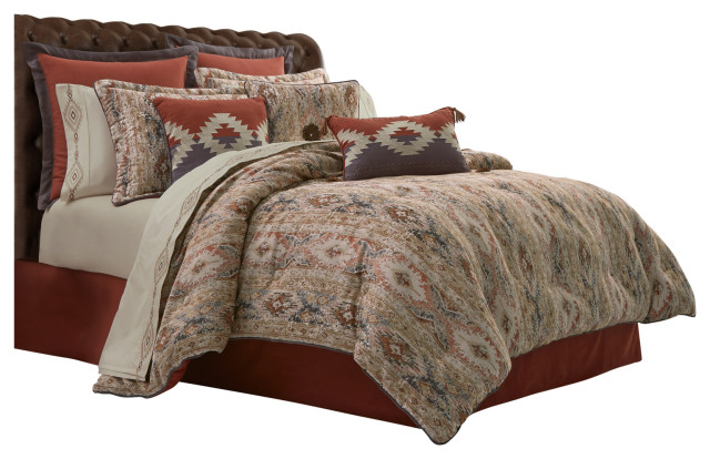 Five Queens Court Baldwin Southwest 4 Piece Comforter Set Southwestern Comforters And Comforter Sets By Five Queens Court