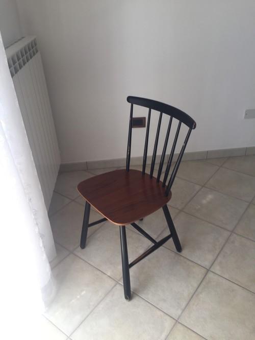 Nuova vita per sedia anni 39 70 for Sedia design anni 70