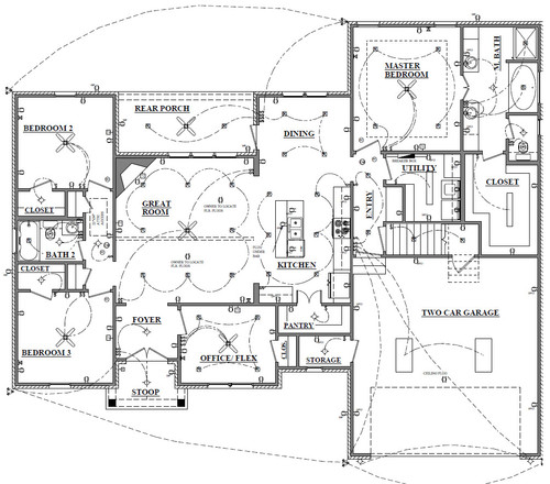 electrical plan for new build