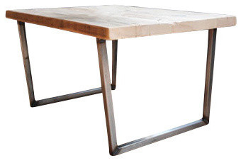 Brooklyn Modern Rustic Reclaimed Wood Coffee Table, Standard, ...