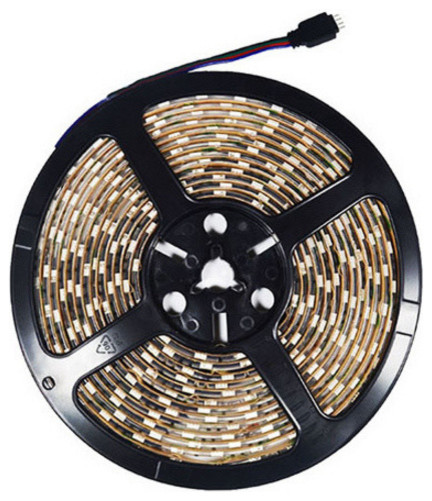 Color Changing RGB Bright LED Strip Light 16' Reel Only - Contemporary - Undercabinet Lighting ...