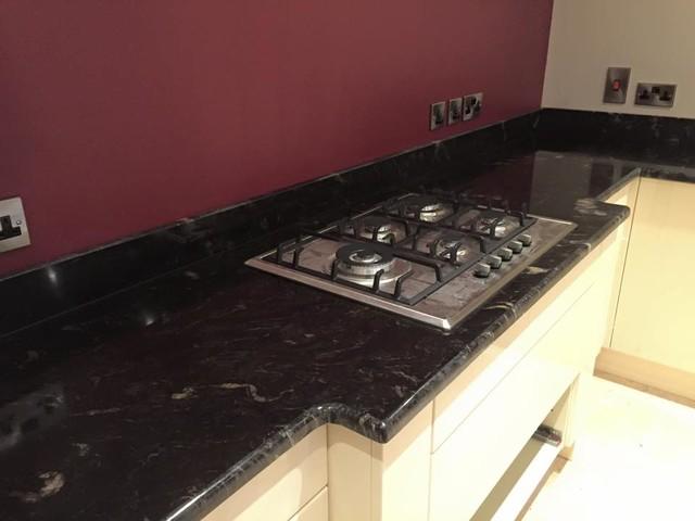 Kitchen Design And Granite Installation Contemporary Cheshire By Graniteline Cheshire
