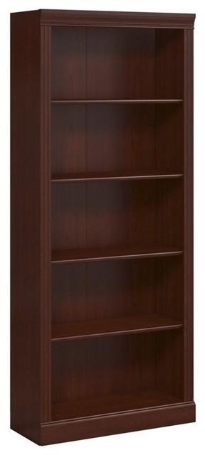 Bush Furniture Bennington 5-Shelf Bookcase X-30-51556cw.