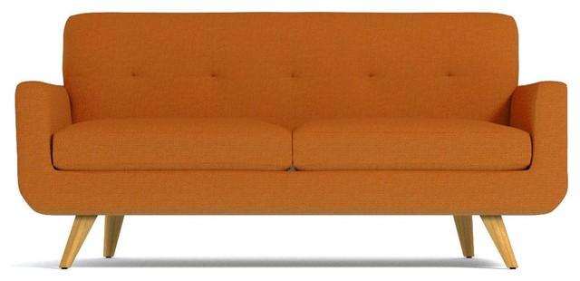 Lawson Apartment Size Sofa, Sweet Potato, 59x34x32.5.