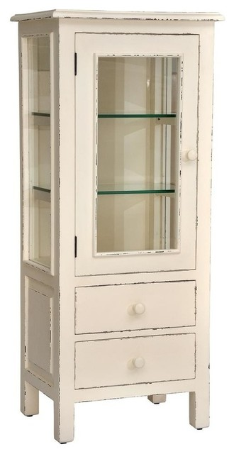 Curio Cabinet - Farmhouse - China Cabinets And Hutches - by ShopLadder