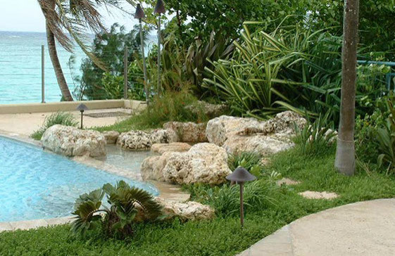 Honolulu, HI Water Features and Landscapes