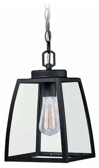 Granville Outdoor Pendant 8 Oil Burnished Bronze Steel 1-Light.