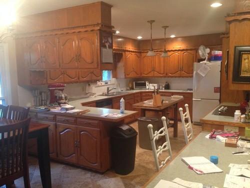 1960 u0027s kitchen cabinet painting  rh   houzz com