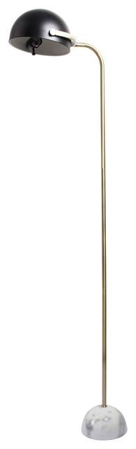 Weathered Navy Sea Fishing Pole Floor Lamp