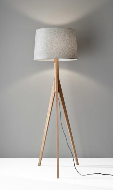 Calvin Floor Lamp, Black