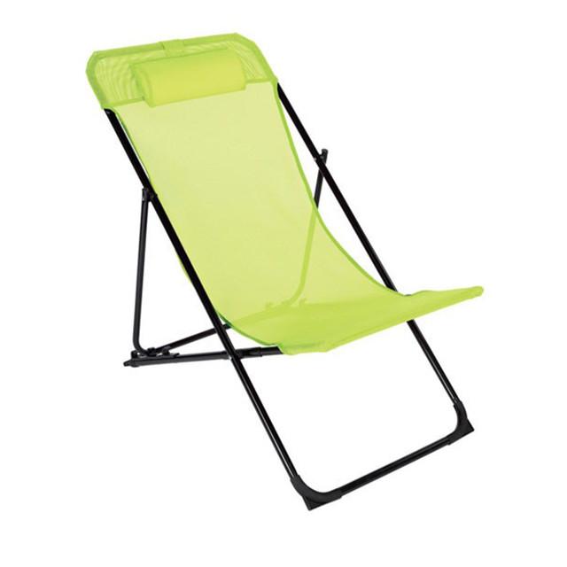 Chilienne joline jaune firefly contemporain chaise for Chaise pliante castorama