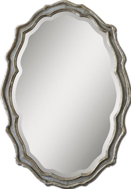 Uttermost Dorgali Mirror, Slate Blue.