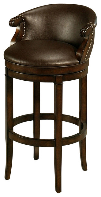 Pastel Princetown Barstool Bonded Ridge Leather Seat Traditional