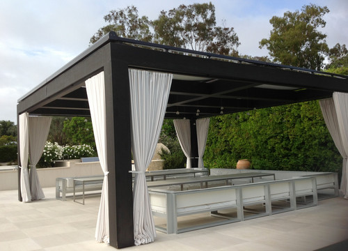 Where can i find fabric tiebacks for my outdoor curtains for my gazebo