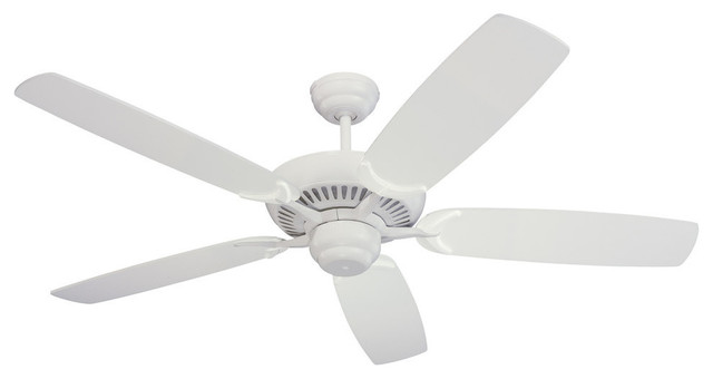 Bathroom vanities laval - 52 Quot Colony Fan White Contemporary Ceiling Fans By Feiss