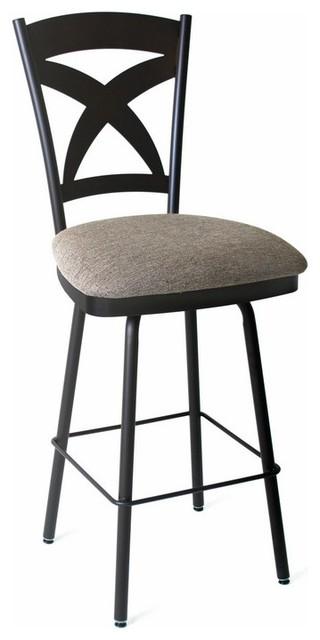 Wondrous Amisco Marcus Swivel Stool 26 Bralicious Painted Fabric Chair Ideas Braliciousco
