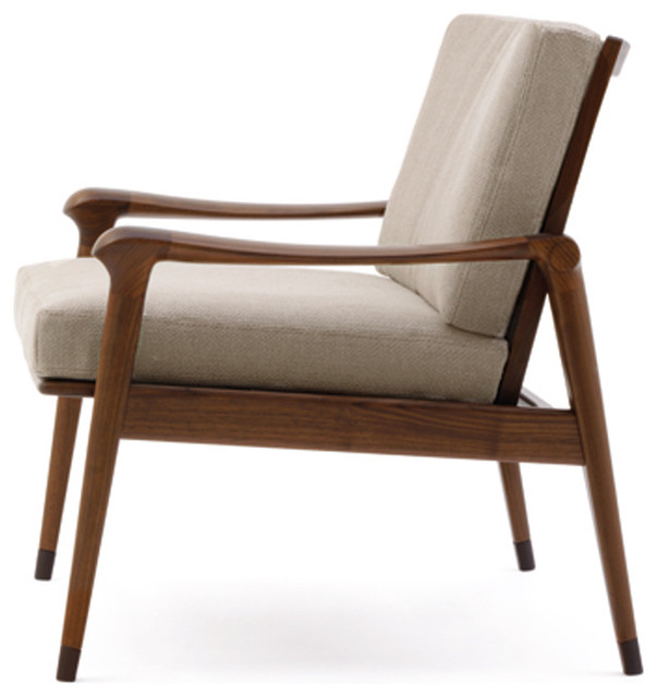 Modern Arm Chair giorgetti denny armchair - modern - armchairs and accent chairs