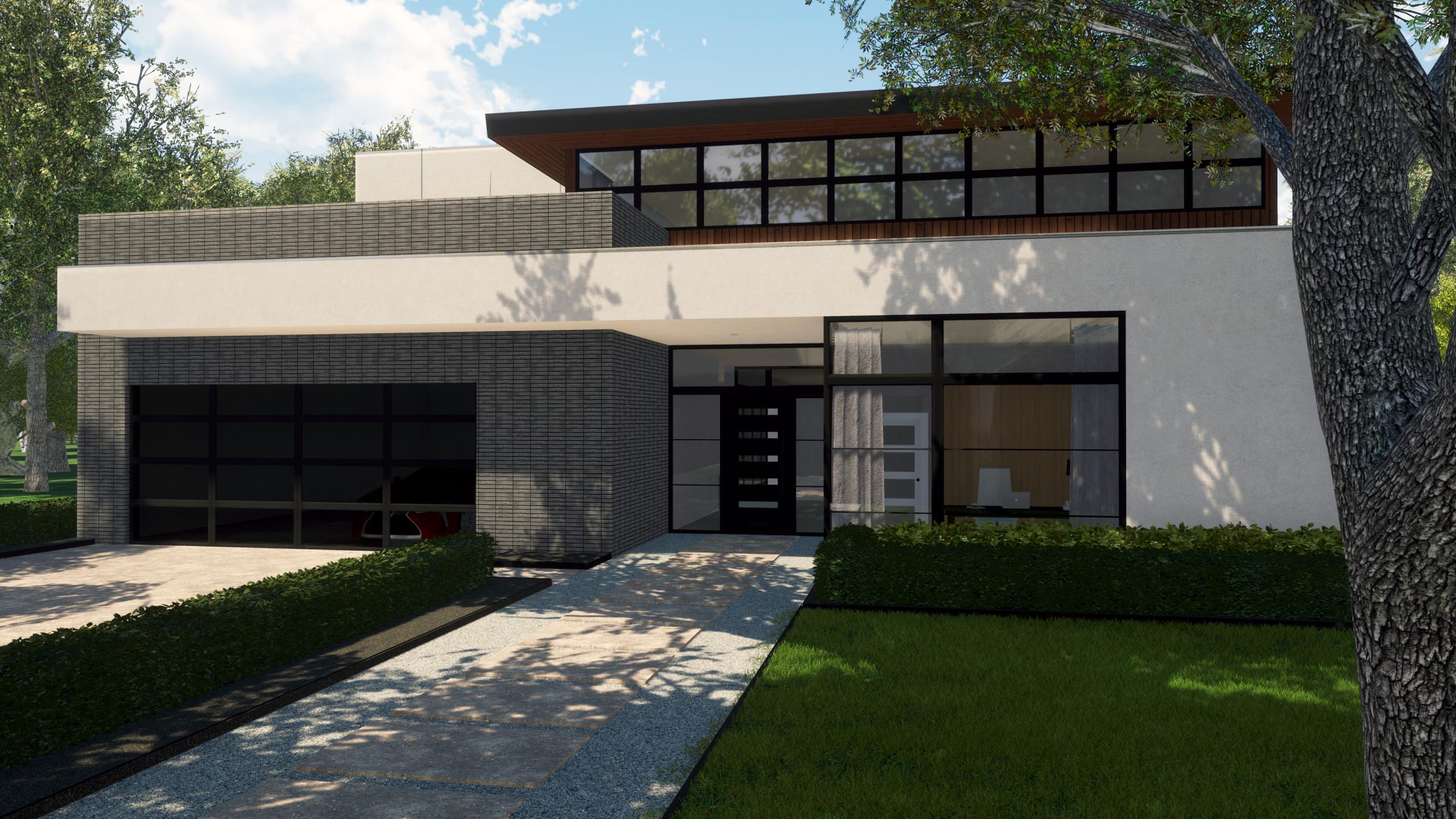 W Cowan Modern Home