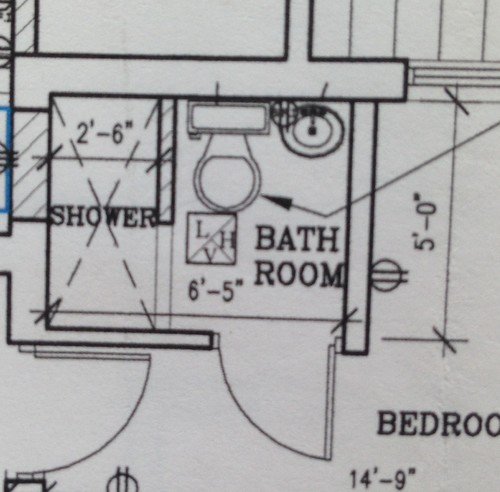 Bathroom Design How Much Space For Toilet how much space is needed to fit a toilet between a shower and vanity?