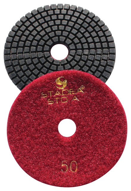 Diamond Hand Polishing Pads By Stadea, Pos1 Grit 30.