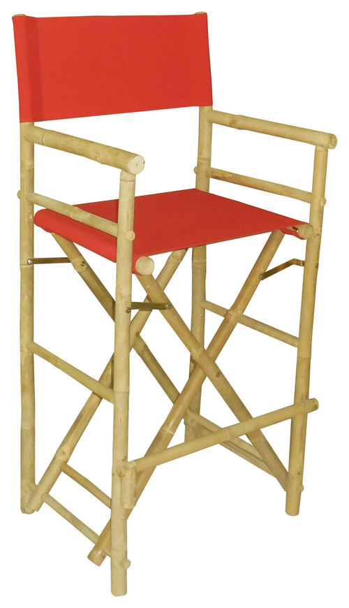 what is the weight capacity of the bamboo high director chair