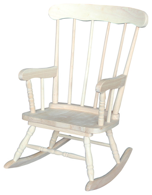 ... Rocker - Traditional - Rocking Chairs - by International Concepts