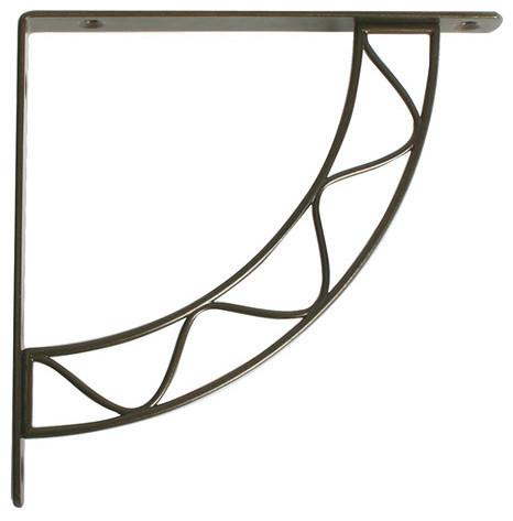 knape and vogt 8 shelf bracket antique bronze brackets. Black Bedroom Furniture Sets. Home Design Ideas