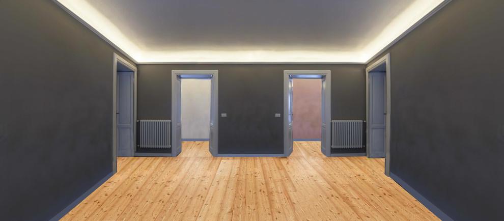 Restyling appartamento con la luce e il colore