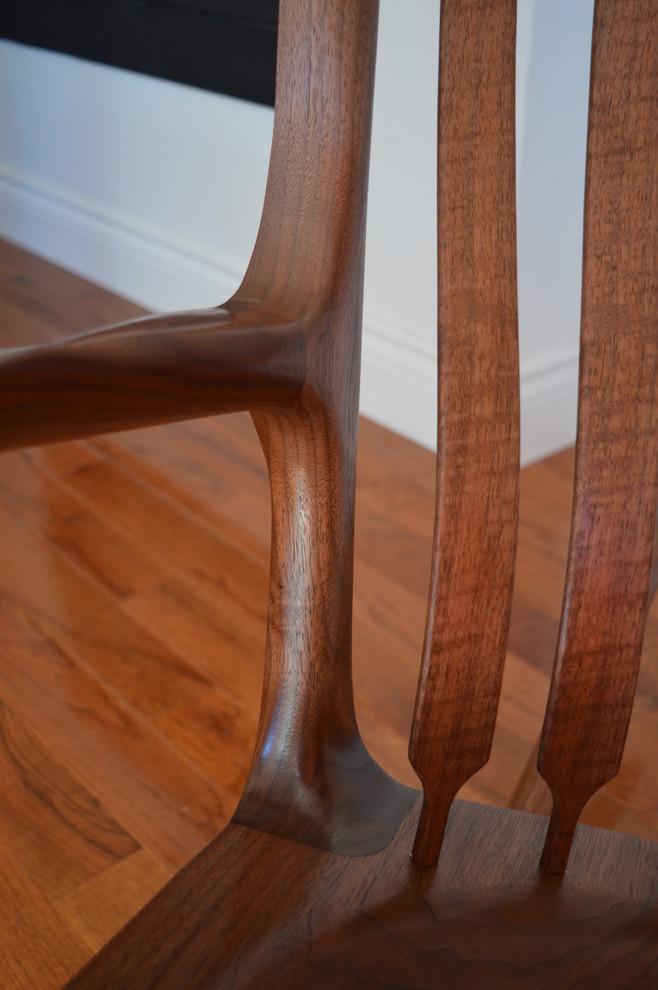 Walnut Rocking Chair