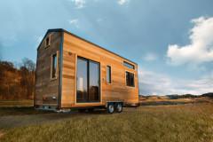 Visite Privée : En Belgique, la petite tiny house dans la prairie