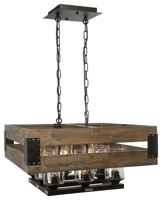 Superb Industrial Kitchen Island Lighting by LNC Lighting