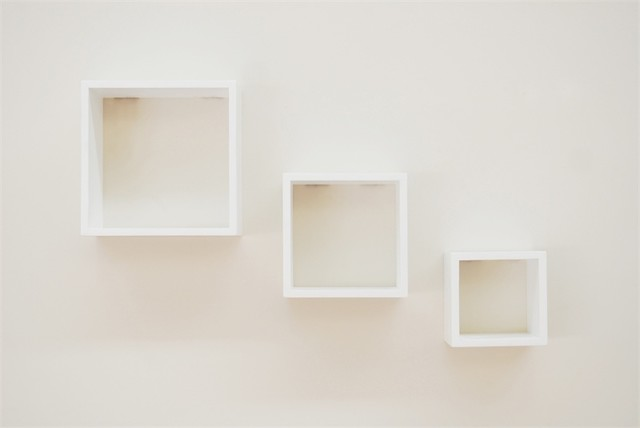 Handy Storage Wall Mount Clever Cubed Storage Unit White