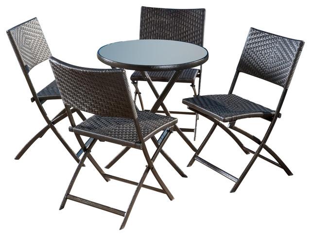 shop houzz  gdfstudio jason piece outdoor folding dining set, Dining tables