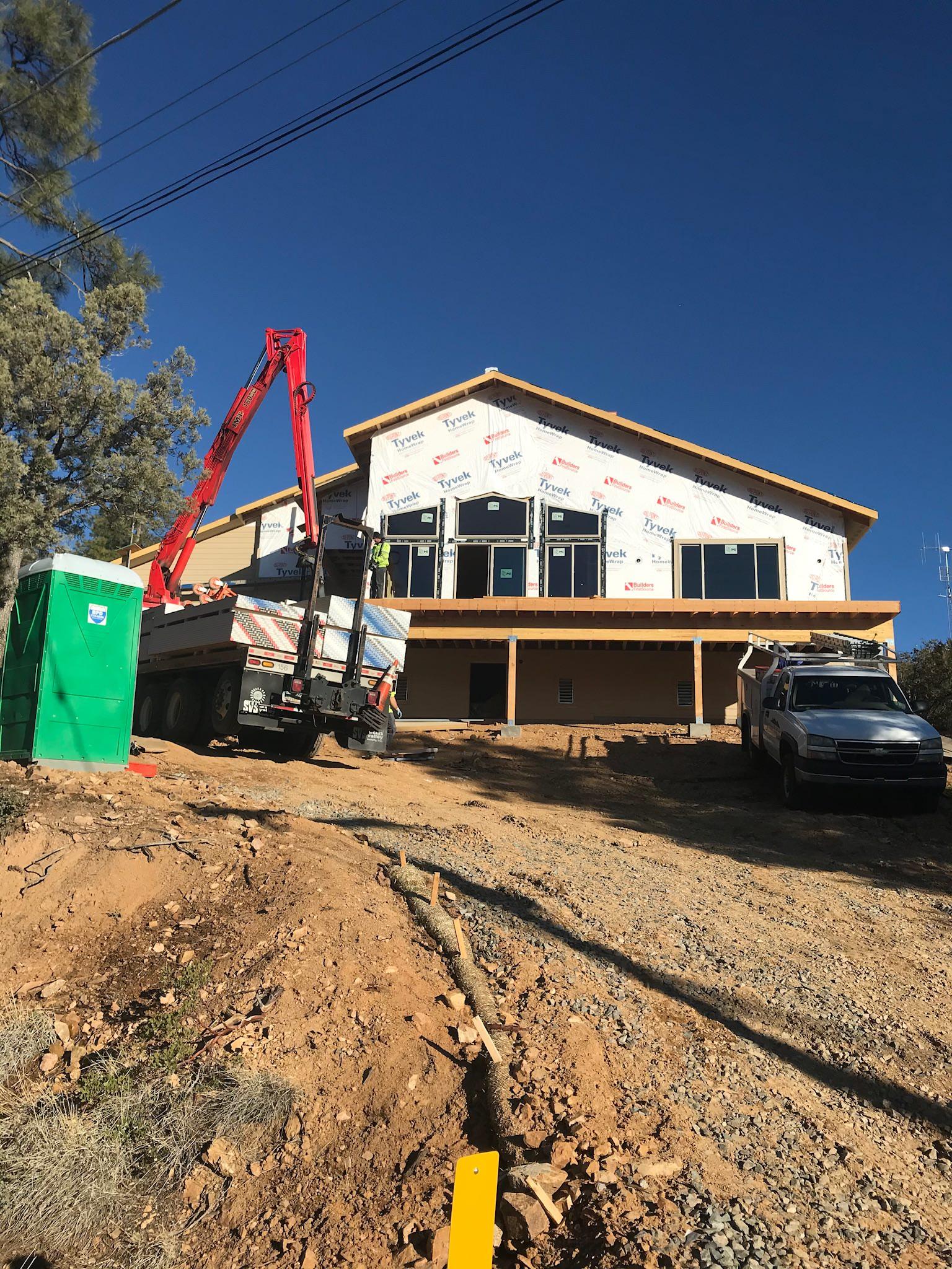 Mountain Laurel Under Construction