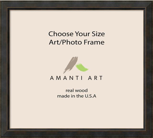 "Art/Photo Frame, Signore Bronze, 40""x36"""