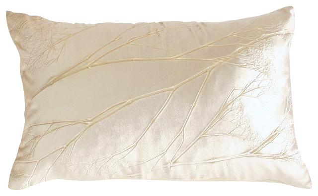 - Analia Silver Pressed Flower Velvet Silk Pillow, 12x20 & Reviews Houzz