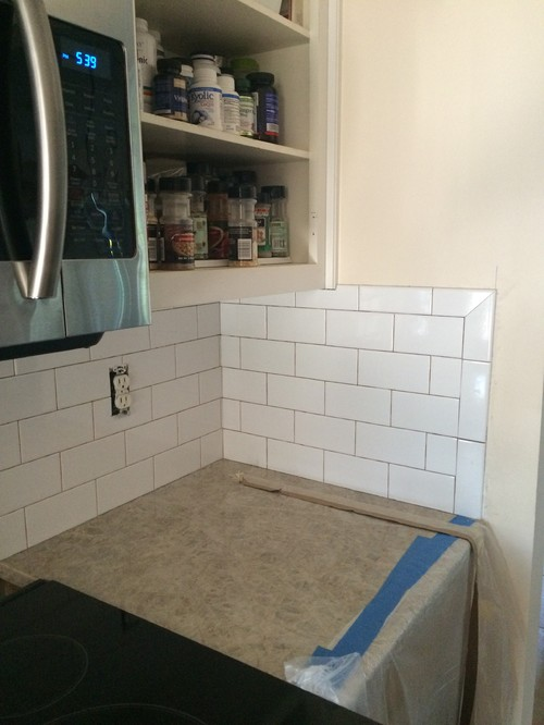How To Tile Kitchen Backsplash Corner - Trendyexaminer