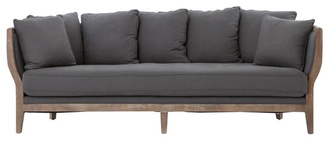 Adonis Charcoal Sofa.