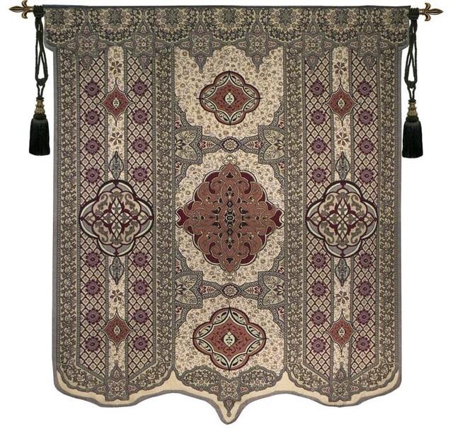 Blason Norfolk Vintage Woven Home Decor Wall Art Hanging Tapestry
