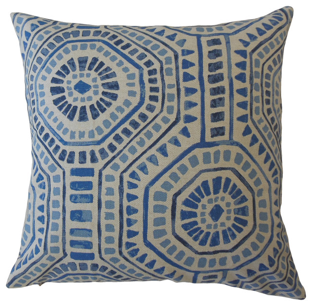 Nahuatl Geometric Throw Pillow Vivid Contemporary Decorative Pillows By The Pillow Collection