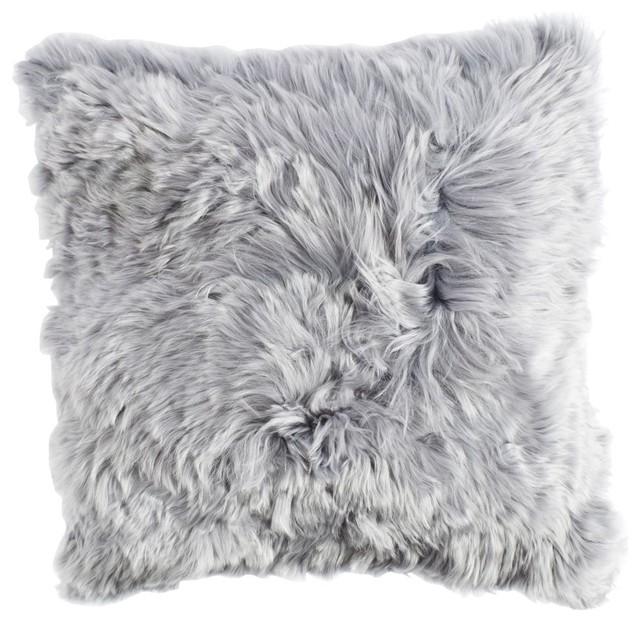 Alpaca Pillow, Dark Grey