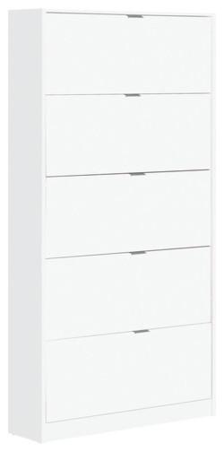 Jade White Shoe Cabinet