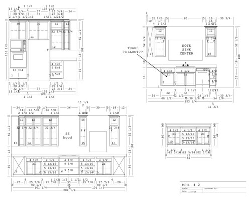 Kitchen Cabinet Layout New Kitchen Cabinet Layout Help Review