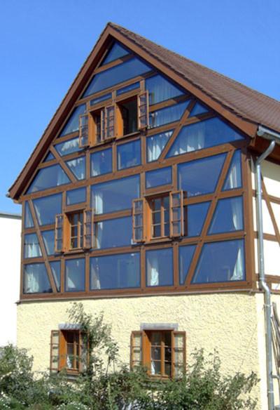 Fenster Fachwerkhaus wie werden fenster im fachwerk vor holzschwund torsion geschützt
