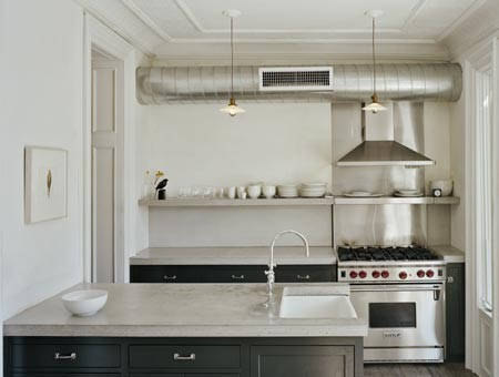 Inspiration for an eclectic home design remodel in New York